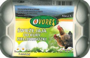 jaja-zielononozka-6szt